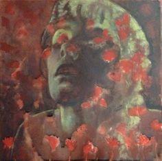 Alkyd,acrylic on canvas#30x30#rithva