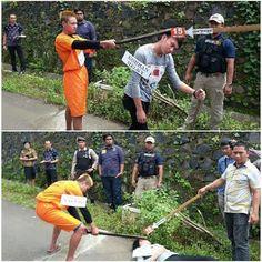 Polres Tomohon Gelar Rekonstruksi Pembunuhan di Tumatangtang - TELEGRAF NEWS