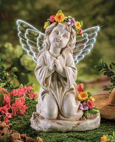 Angel Pictures, Love Pictures, Beautiful Pictures, Angel Decor, Angel Art, Angel Sculpture, Garden Sculpture, Cemetary Decorations, Prayer Garden