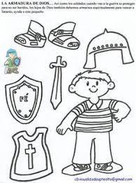 Resultado De Imagen Para La Armadura De Dios Para Niños Religious