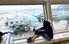 """B E L L A  (@painful_universe) on Instagram: """"Waiting for our next flight."""""""