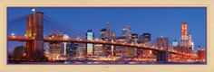 Masterpieces Michael Stubblefiel New York City Panoramic Jigsaw Puzzle - 1000 pc