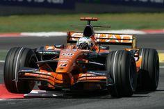 Adrian Sutil - Spyker - Circuit de Catalunya (2007)