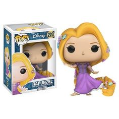 This is a Disney Tangled POP Rapunzel Vinyl Figure that is produced by Funko. This Rapunzel POP Vinyl features Rapunzel in her princess gown. It's always great to see a Disney Princess POP Disney Pop, Disney Rapunzel, Tangled Rapunzel, Princess Rapunzel, Disney Princesses, Disney Pixar, Princess Gowns, Punk Disney, Disney Facts