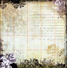 """Photo from album """"Design sheet Dear John"""" on Yandex. Scrapbook Albums, Scrapbook Paper, Scrapbooking, Journal Cards, Junk Journal, Bullet Journal, Dear John, Album Design, Decoupage Paper"""