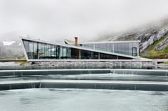 Norwegian Architect Reiulf Ramstad Shares What 'Designing for a Landscape' Really Means,Trollstigen Visitor Center / RRA Villa Architecture, Modern Architecture Design, Ancient Architecture, Sustainable Architecture, Tourist Center, New Nordic, Fjord, Oslo, Exterior Design