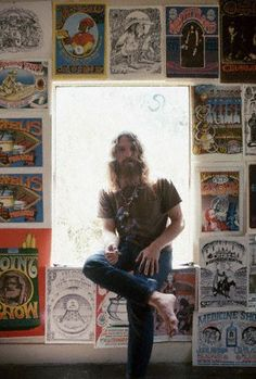 SURF, 60's PSYCHEDELIA & BORN AGAIN.. RICK GRIFFIN ...  6/18/1944 -- 8/18/1991 .... motorcycle accident