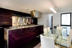 Property for sale in Charles Street, London - 30714711 Purple Kitchen, Fantasy House, All Things Purple, Kitchen Decor, Kitchen Ideas, Home Kitchens, Property For Sale, Home And Garden, Design Inspiration