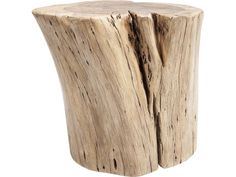 Taboret Asta drewniany — Taborety Kare Design — sfmeble.pl  #wood  #natural  #homedesign