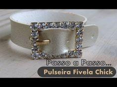 Passo a Passo #28 - Série Faça Fácil Pulseira Fivela Strass - YouTube