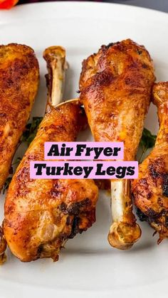 Air Fryer Oven Recipes, Air Frier Recipes, Air Fryer Dinner Recipes, Healthy Turkey Recipes, Air Fried Food, Air Fryer Healthy, Air Frying, Keto Meal Plan, Southern Recipes