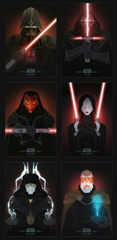 Star Wars Villains Project by Jonathan Lam, Petros Afshar & Fishfinger