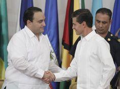 Periodismo sin Censura: ACOMPAÑA EL GOBERNADOR AL PRESIDENTE ENRIQUE PEÑA ...
