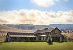 Image result for montana ranch house with barn