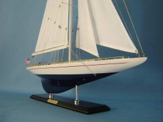 America's Cup Enterprise Yacht Model
