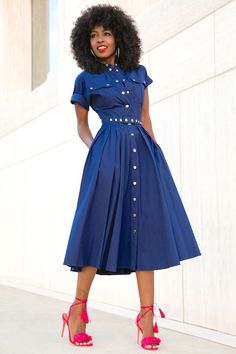 Utility Snap-Front Shirtdress | Style Pantry | Bloglovin'