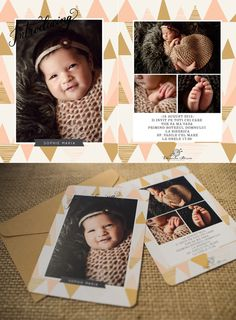 Invitatii de botez Daniela Sterea Polaroid Film, Cards, Maps, Playing Cards