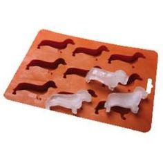 dachshund ice cube tray
