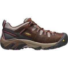Keen Men's Detroit Low Internal Met Steel Toe Work Shoes, Brown