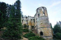 Best Castles in Luxembourg! Fairytale & Medieval Palaces   solosophie Beaufort Castle, Travel Log, Fairytale Castle, Central Europe, Barcelona Cathedral, Belgium, Fairy Tales, Medieval, Places To Go