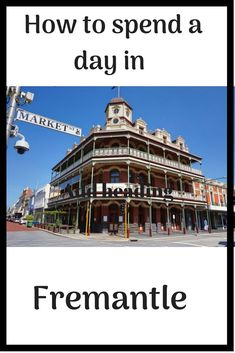 Planning a trip to Fremantle, WA? Here's the best way to spend a day in this beautiful seaside town, just near Perth. Darwin Australia, Brisbane Australia, Visit Australia, Western Australia, Perth, Beautiful Places To Travel, Amazing Places, New Zealand Travel Guide, Australia Travel Guide