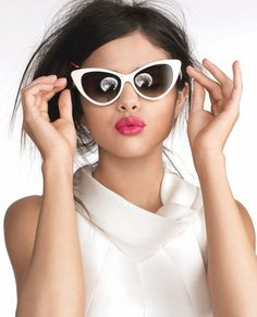 949c993d2f0 Womens Fashion Hot Tip Pointed Vintage Cat Eye Sunglasses 8371 - zeroUV