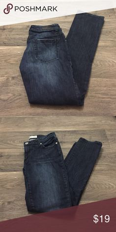 Dark wash skinny jeans Dark wash skinny jeans, size 6P! No flaws! Charlotte Russe Jeans Skinny