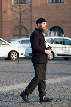 Best Emeritus Professor Lost at Fashion Week at Pitti Uomo – Men s Street  Style World Street ab57010695d