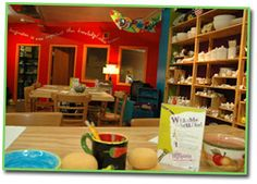 """Visit """"Hot Plates"""" in Marquette, a paint your own pottery store which allows visitors to relax, have fun, and produce something they can be proud of."""