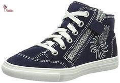 Richter Kinderschuhe  Fedora, Sneakers Basses fille - bleu - Blau (Atlantic), 34 - Chaussures richter kinderschuhe (*Partner-Link)