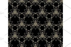 Damask Patterns, Arabesque, Vector Pattern, Abstract Backgrounds, Oriental, Floral, Prints, Flowers, Flower