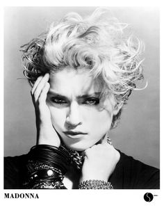 Madonna press photo 1983