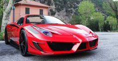Ferrari 458 Italia The MANSORY SIRACUSA UHA Otomotiv A.Ş