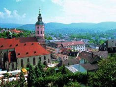 Baden Baden, Germany. A beautiful town with a fantastic spa. One of our favourite places for a short break.
