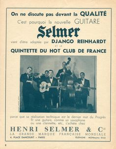 Selmer promotion material