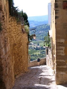 Gordes ~ Provence, France - I took a picture in the exact same spot!