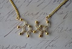 Biolojewelry - Sugar Molecule Necklace