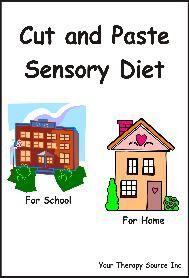 sensory diet ideas - Repinned by Columbus Speech & Hearing Center. For more ideas like this visit www.pinterest.com/ColumbusSpeech