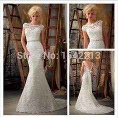 Vestidos-De-Novia-Romantic-Cap-Sleeve-Lace-Mermaid-Wedding-Dress-Backless-Style-Sexy-Bridal-Gown-Custom.jpg_640x640.jpg 478×477 pixels