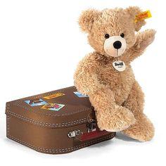 Fynn teddy bear in suitcase by Steiff - EAN 111471