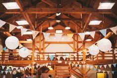 Beautiful reception at Cobblestone farms.