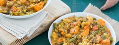 This recipe is reminiscent of the aroma, taste, and comfort of my mama's traditional stew recipe, but my version is healthier, heartier, and easier to make. The potato, white bean cream, and Worcestershire...