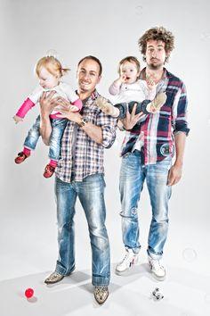 Erdogan Atalay und Tom Beck mit unseren Heldenkindern...:-)