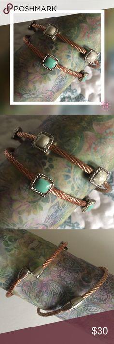 Selling this LANDAU 3-Station Cable Magnetic Bracelet on Poshmark! My username is: amore923. #shopmycloset #poshmark #fashion #shopping #style #forsale #Landau #Jewelry