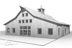 Custom Wedding Barn & Event Venue Design - DC Builders