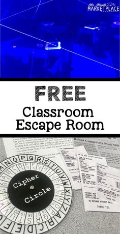 Create an escape room in your classroom! This concept can be integrated into any subject, but I think it would be interesting implementing it into Social Studies in particular. This could be a way to engage and immerse students in historical events. Escape Room Design, Escape Room Diy, Escape Room For Kids, Escape Room Puzzles, Escape Puzzle, Room Kids, Breakout Game, Breakout Edu, Breakout Boxes
