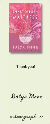 """Authorgraph from Dalya Moon for """"Smart Mouth Waitress"""""""