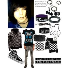 Dress Emo Guys Summer Boys And Gothic