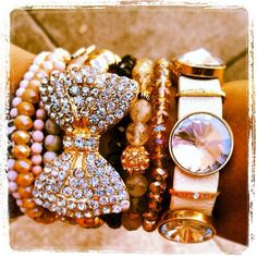 ♥ so cute arm candy love bracelets