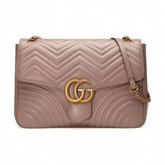 2d1b6f3fa760 Trendy Women s Bags   Picture Description GG Marmont Large Chevron Quilted  Leather Shoulder Bag by Gucci. Gucci
